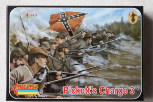 Strelets 1/72 ST0178 Pickett's Charge 3 (ACW) (Damaged Box)